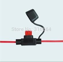 Free Shipping  10PCS/lot mini  Auto fuse car In-Line waterproof mini  auto Fuse Holder. automotive fuse holder