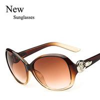 Wholesale 2015 Trendy Colorful Cheap Sports Sunglasses New Round Women Ladys Leisure Eyewear Free shipping