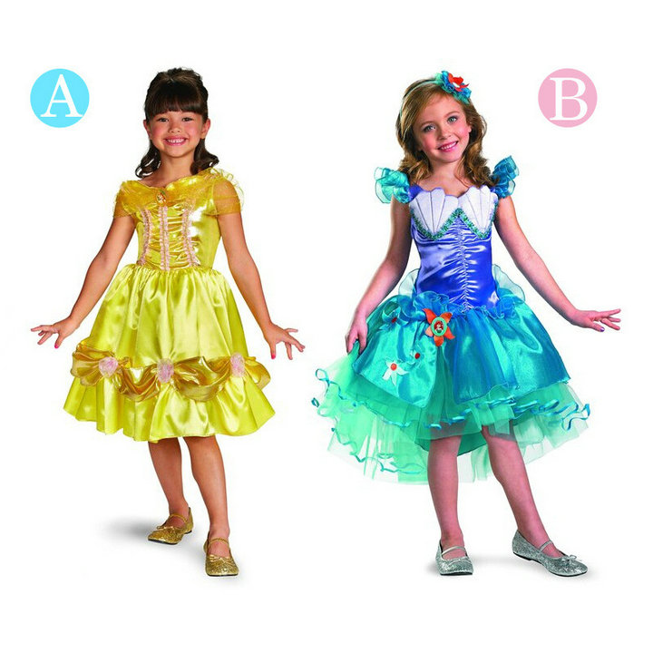 Prom Dress Cartoon Prom Dress Kids Clothes