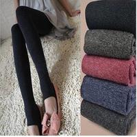 Hot Sale! 2015 New Fashion Robbit Wool Warm Pants Trample Feet Women Leggings