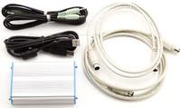 USB PC linker Connector Adaptor fr YAESU FT-817/857/897 ICOM KENWOOD CAT CW Data
