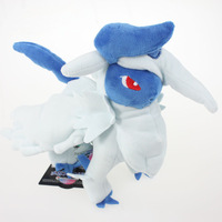 EMS 20pcs/lot 21cm Pokemon Soft Plush Doll Million Disaster Beast Absol Educational Toy Baby Toy Free Shipping