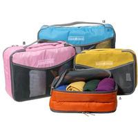 Free shipping storage box Nylon brand travel cosmetics bag box organizer Wash bag travelmate waterproof organizador de maquiagem
