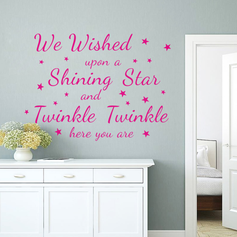 Shine quotes promotion shop for promotional shine quotes for Collant mural walmart