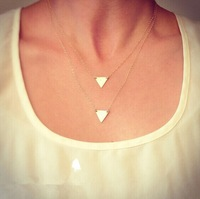 ZH1016 New Stunning Celebrity Sideways Vertical Hammered Bar Charm Infinity Pendant Necklace Chain Wedding Event Jewelry