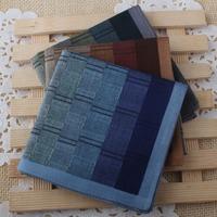Mens Hankies Cotton 100% Fashion High Quanlity, Handkerchief For Male /CTW