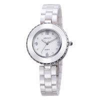 New WEIQIN Luxury Brand Fashion Sweet Female Business Waterproof Ceramic Bracelet Watches High Quality Quartz Movement Watch