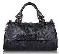 2015 New women handbag Cowhide leather Simple style handbag shoulder bag messenger bag genuine leather