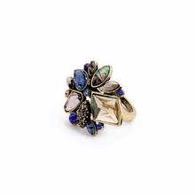 Shijie Jewelry Brand Designer Valentine's Day Anel Jewelry Elegant Rhinestone Ring