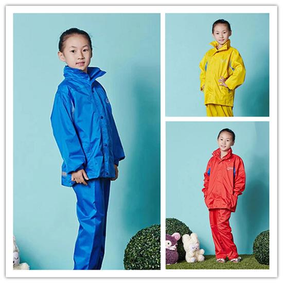 Kids Raincoats,rain pants,Child suit,Good size table,Boys jacket,Children Girls raincoat,double,thicken,Waterproof(China (Mainland))