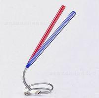 1 pcs LED Desk Lamp 10leds Flexible Lamp Neck USB Powered Free Shipping