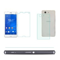 Front Back Hardness Tempered Glass Screen Protector For Sony Xperia Z3 Mini Dropshipping