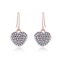 Fashion jewerly Mushroom Earrings Full drill Earrings Stud Earrings  Free Shipping