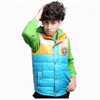 Aones Winter Boy's Vest Sleeveless Kids Waistcoats Clothes Fashion Autumn Jackets Next  Warm Velvet Children's Coat AF-4DS089