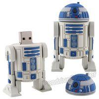64GB pen drive R2D2 USB flash drive, 64G thumb drive Starwars flash memory
