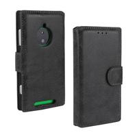 retro PU Flip Leather Case For Nokia Lumia 830  Stand Wallet Book Design Card Slot Cover For Lumia 830 Case