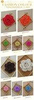 Free shipping Fashion  50 pics handmade girl headwear accessories crochet cotton  doily mat for home decor hair accessories