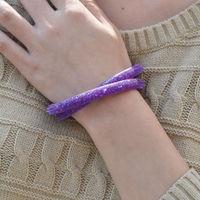 New arrival bracelets mesh chain with full resin crystal bracelets inside magnetic wrap double bracelet Free Shipping JWJHCB002