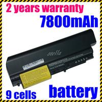 High quality  Laptop Battery For IBM/Lenovo ThinkPad T61 T61p R61 R61i T61u R400 T400 black