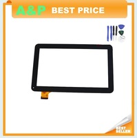 "Wholesale Black 10.1"" Tablet PC YCF0464-A YCF0464 Touch Screen Touch Panel MID Digitizer Glass Sensor Replacement Free Shipping"