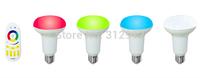 1 piece 2.4Ghz RGBW 4-zone led touch remote(Mi-Light)+4 pieces of 2.4Ghz RGBW(warm white) LED par bulb