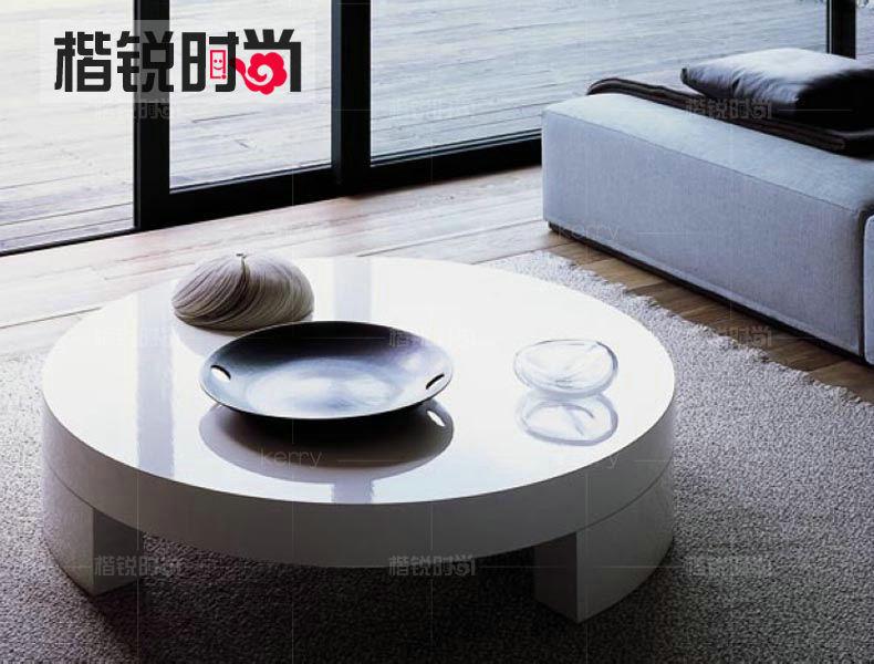온라인 구매 도매 백색 원형 커피 테이블 중국에서 백색 원형 ...