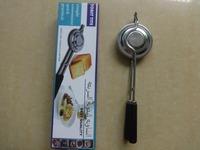 Toast Tite Pan Cooker Wood Handle Held Aluminum Fire Pocket Camp Fire Egg Sandwitch Pie Sandwich Press Maker As seen on TV #FH47