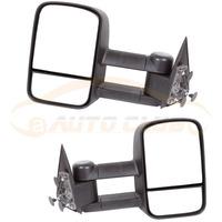 pair 99-07 For CHEVY SILVERADO GMC SIERRRA MANUAL Telescoping TOWING SIDE DOOR MIRROR