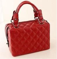 New European and American Style women handbag Quilted Stereotypes doctor handbag Classical women handbag