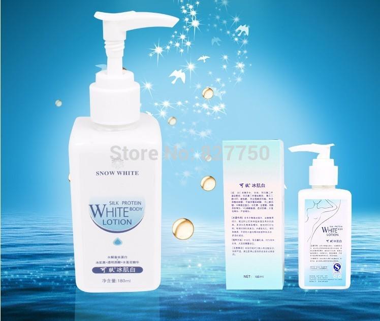 1pcs100% Original Whitening Cream 180ml whitening Face Body Lotion Makeup Retail Wholesale(China (Mainland))