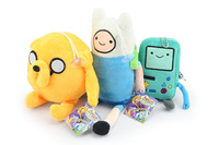 "15pcs/lot 2014 Anime Adventure Time 11"" Finn And Jake 8"" Beemo BMO Plush Doll classic toys Best Toy Free Shipping"