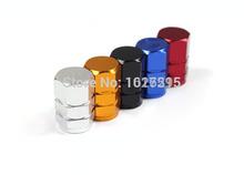 8PCS/lot Universal Aluminum Car Tyre Air Valve Caps, Bicycle Tire Valve Cap, Hexagonal Ventil Valve Cap For Auto Car Truck