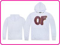 Free Shipping Online Stock Men Women Fashion Brand Odd Future Sweatshirt Skateboard Unisex Casual White Color Hooded Hoodies