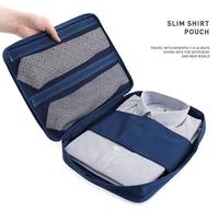 Men's Travel Bags Shirt Pouch Clothes Necktie Pocket Travel Bags Suitcase Organizer