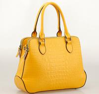 NO.1 2015 Women Genuine Leather Handbags Designer Famous Brand Handbag  Crocodile Women Leather Bags Women Messenger Bags HN08