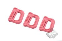 10pcs D-Type buckle quick release Climbing buckle hang buckle keychain Carabiner