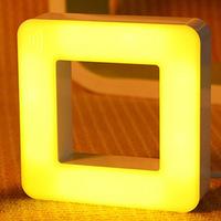 Free Shipping New 2015 LED Menorah Desk Lamp night light Creative Home Desktop LED Lamp Toys Strange New Square Lamps