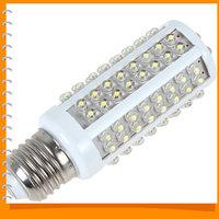 Ultra Bright 7W 220V E27 LED Corn Bulb Lamp 360 Degree Cold White Light LED Corn Light Bulb with 108 LEDs