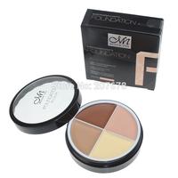 2014 New Hot Makeup 4 color Natural Face Concealer Cosmetics Make up set Free Shipping