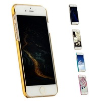 Luxury Cute Angel Hard Chromed Cover Cases Protector For IPhone 6 Plus Dropshipping