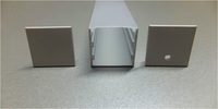RA-3030;1M long aluminum alloy profile with PC cover;for flexibe and rigid LED strips;for 22mm pcba