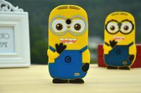 For Meizu MX4 case MX 4 Cute Cartoon Soft Silicon Rubber Back Cover Despicable Me 2 Minions Yellow Minion Case FA014