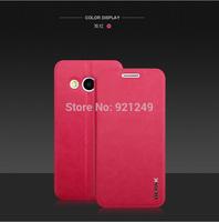 10Pcs/lot For Samsung G355H Leather Case  BEPAK Flip Case For Samsung G355H/G3556D/G3559 Case+Screen Protector+Retail Box