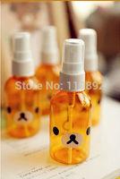 100ml Rilakkuma Cute spray bottle 200pcs/lot cosmetic bottles DHL free shipping