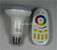 1 piece 2.4Ghz RGBW(warm white) LED par bulb+ 1 piece 2.4Ghz RGBW 4-zone led touch remote(Mi-Light)