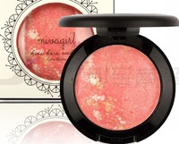 7pcs MIVAGIRL Makeup Baked Blush Palette Baked Cheek Color Blusher Blush! free shipping