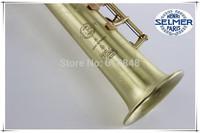 Henri selmer B soprano saxophone Super action 80 series II green ancient drawing
