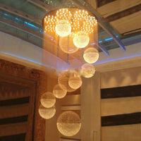Modern crystal Restaurant chandelier modern living room curtain lights also for wholesale