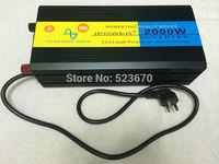 2000W/4000W(Peak) Pure Sine Wave Power Inverter DC 12V to AC 220V SOFT START UPS Charging