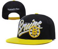 2014 wholesale men / women Mitchell & BOSTON BRUINS SNAPBACKS hip-hop cap trucker hats best tennis cap, free shipping